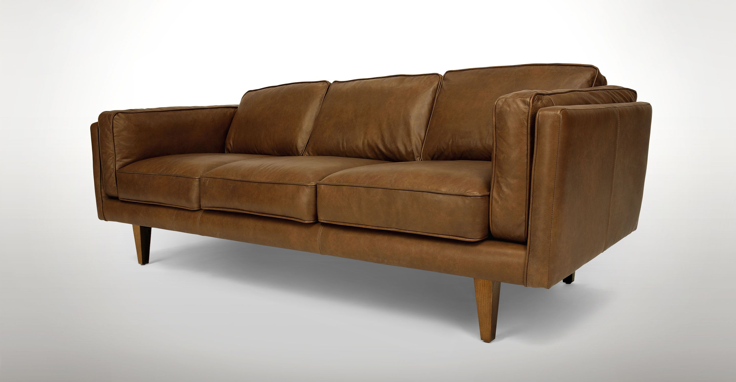 Terra Oxford Tan Sofa