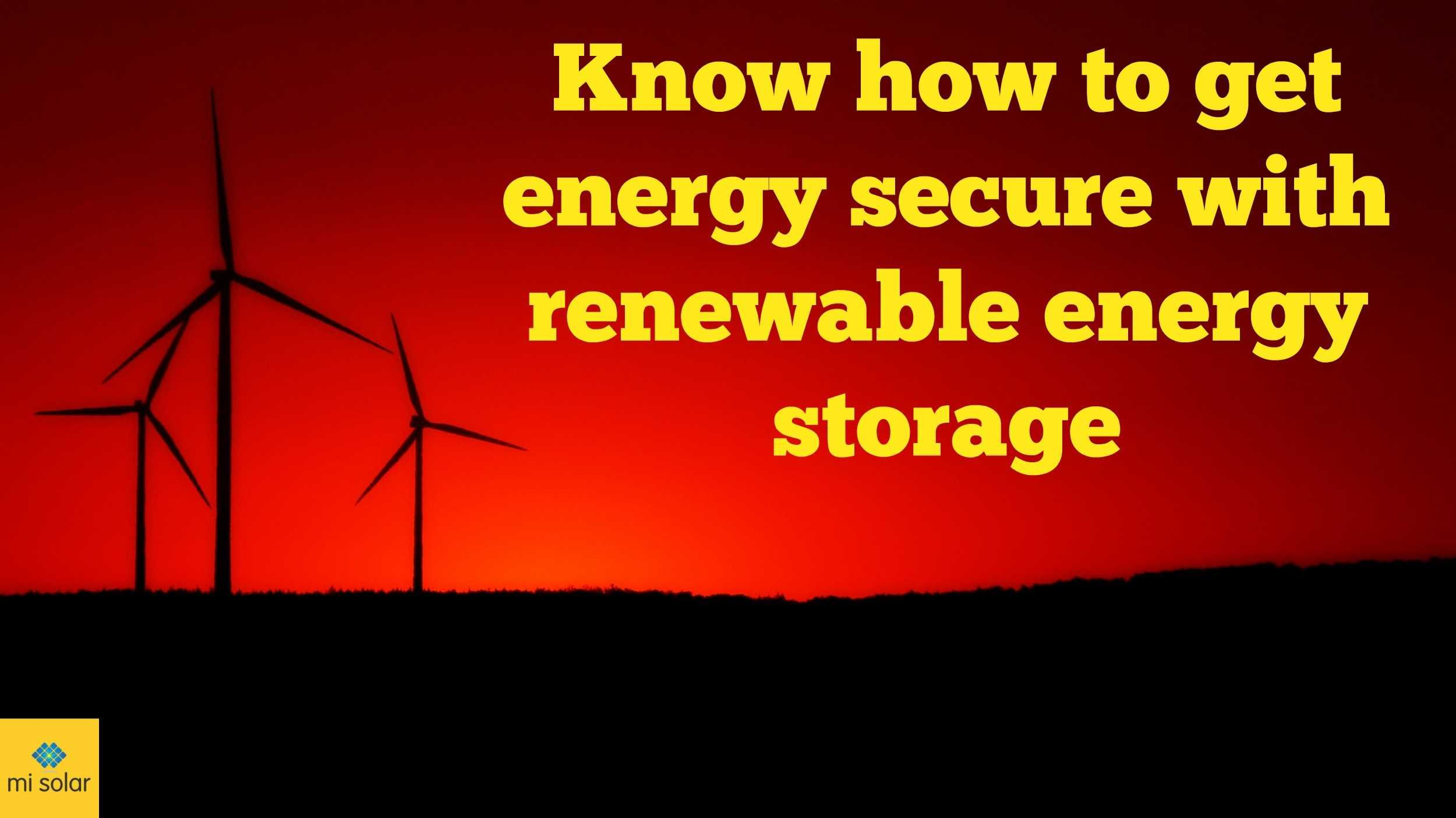 Account Suspended How to get energy, Energy storage