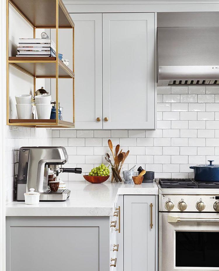 Orsi Panos Interiors Orsipanosinteriors Instagram Photos And Videos Cabinets Mennonite Grey Pa Light Grey Kitchens Grey Kitchen Cabinets Kitchen Remodel