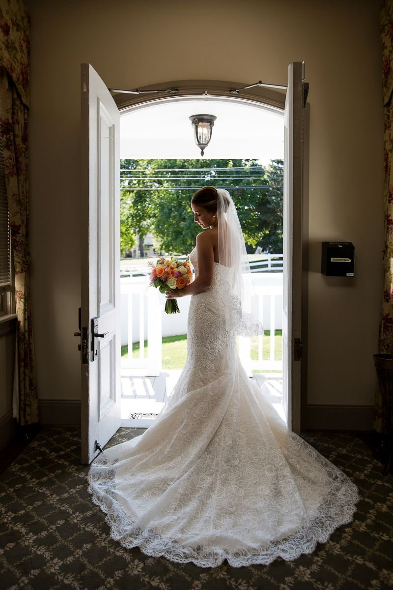 Bridal portrait at normandy farms by krista patton photography