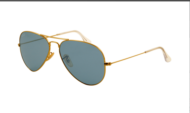 Blocking the Sun with a powerful effect Ray Ban RB3025 Aviator ...