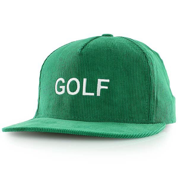 c39c6abde5fcb Kelly green corduroy golf wang hat