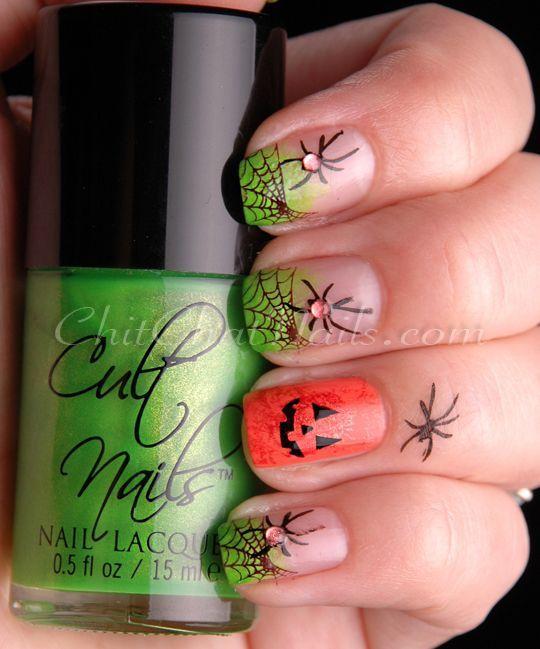 Ideas para pintarte las uñas paso a paso en Halloween | Planeta de ...