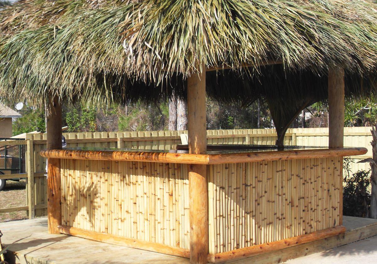 Backyard Tiki Bar | Backyard Ideas on Tiki Bar Designs For Backyard id=12570