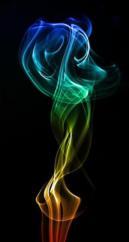 Hookah Smoke Art