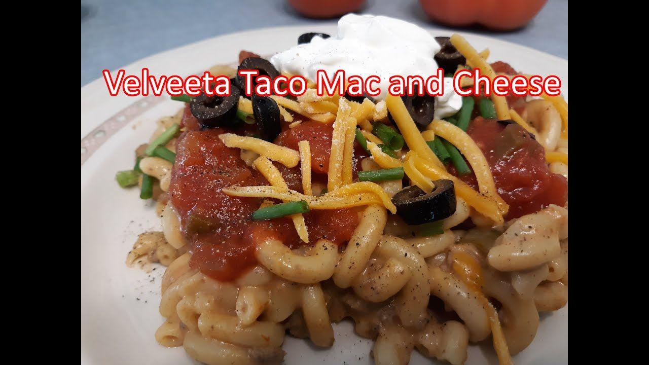 Velveeta Taco Mac and Cheese