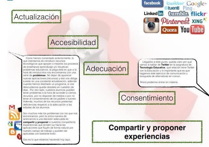 Redes Sociales en Educación.