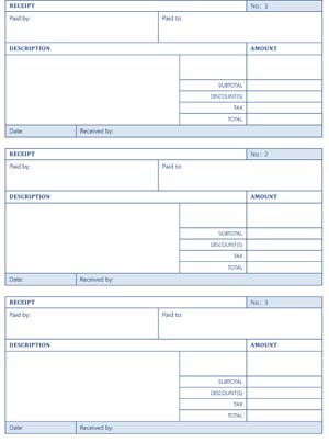 Printable Cash Receipts Small Business Free Forms Receipt Template Free Receipt Template Small Business