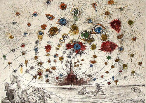 """Salvador Dali, """"Argus"""", 1960"""