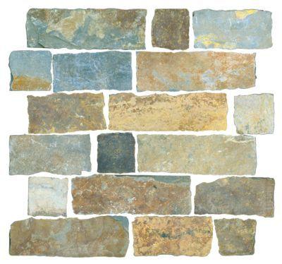 Copper Rust Brick 12 X 12 In Slate Mosaics Tile Slate Floor Tile The Tile Shop Wall And Floor Tiles Flooring