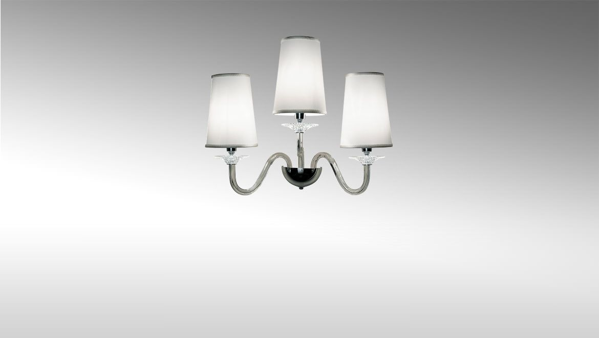 Bellini applique lighting wall sconce