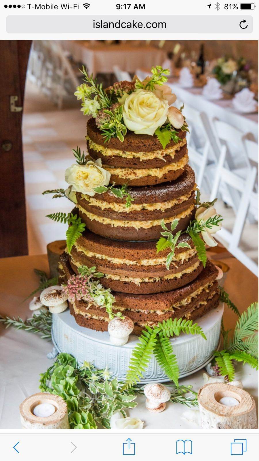 Pin By Andrea Johnson On Tropic Aisle German Chocolate Cake German Chocolate Chocolate Wedding Cake