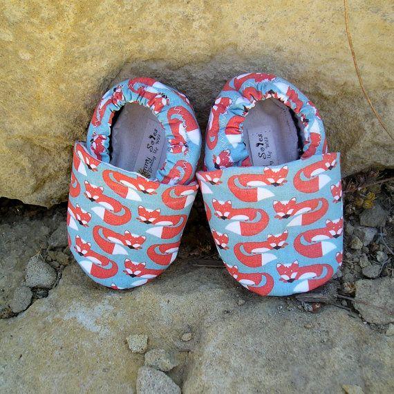 Foxy Feet organic baby shoes. Adorable!