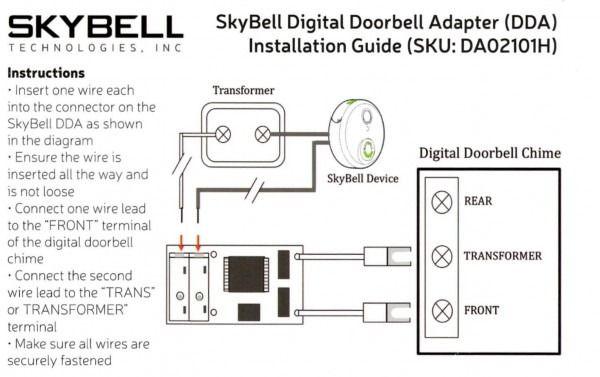 Do I Need A Digital Doorbell Adapter How Do I Install It Diagram Installation Doorbell