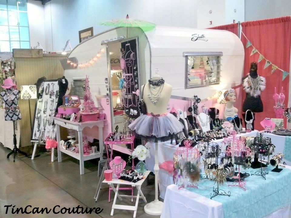 Tincan couture mobile boutique just met the owner and for Camping a couture 49
