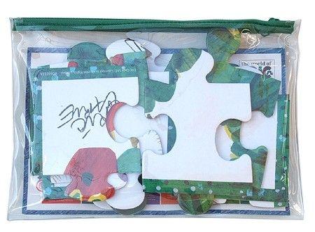 【楽天市場】【送料無料】エリックカール ビニールポーチ入パズル:オンラインショッパーズ