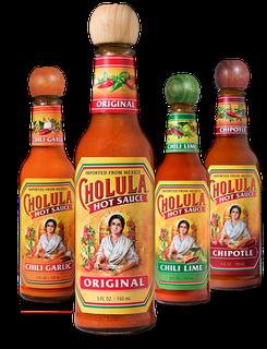 Sauce cholula hot