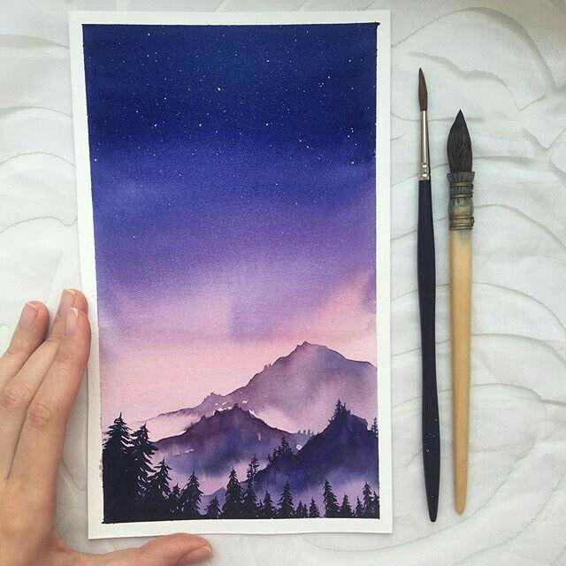 Pin Von Katrin Grabowski Auf Malen Wasserfarben Illustration