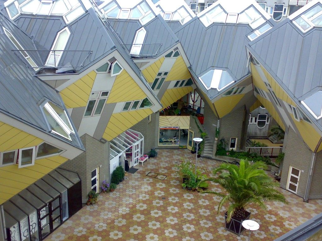 10 most bizzare strange buildings rotterdam building and architecture - The cubic home ...