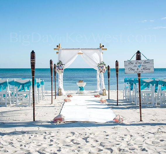 Key West Beach Wedding Planning Ceremony Getting Married In Packages Affordable