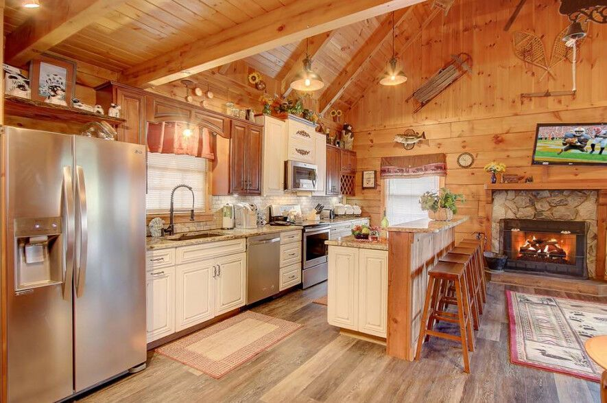 Home sweet home the beautiful fully equipped kitchen