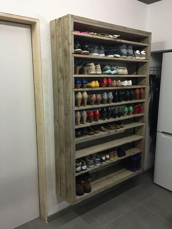 10 idées de rangements pratiques pour vos chaussures                                                                                                                                                                                 Plus