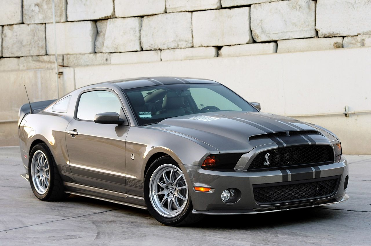 This ford mustang cobra is a monster