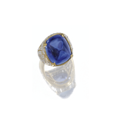 1433bf8aabf24 Sapphire and diamond ring, Bulgari - Sotheby's Centring on a ...