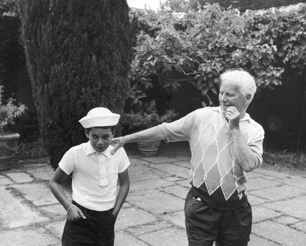 Der Komiker lebte von 1952 bis zu seinem Tod in der Nähe von Vevey.