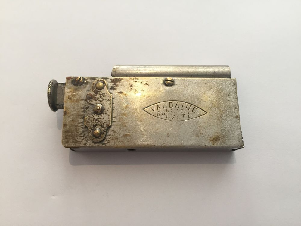 Joseph Vaudaine Paris Rare Antique French Lighter Cira 1882 Briquet Ebay French Antiques Rare Antique Lighter