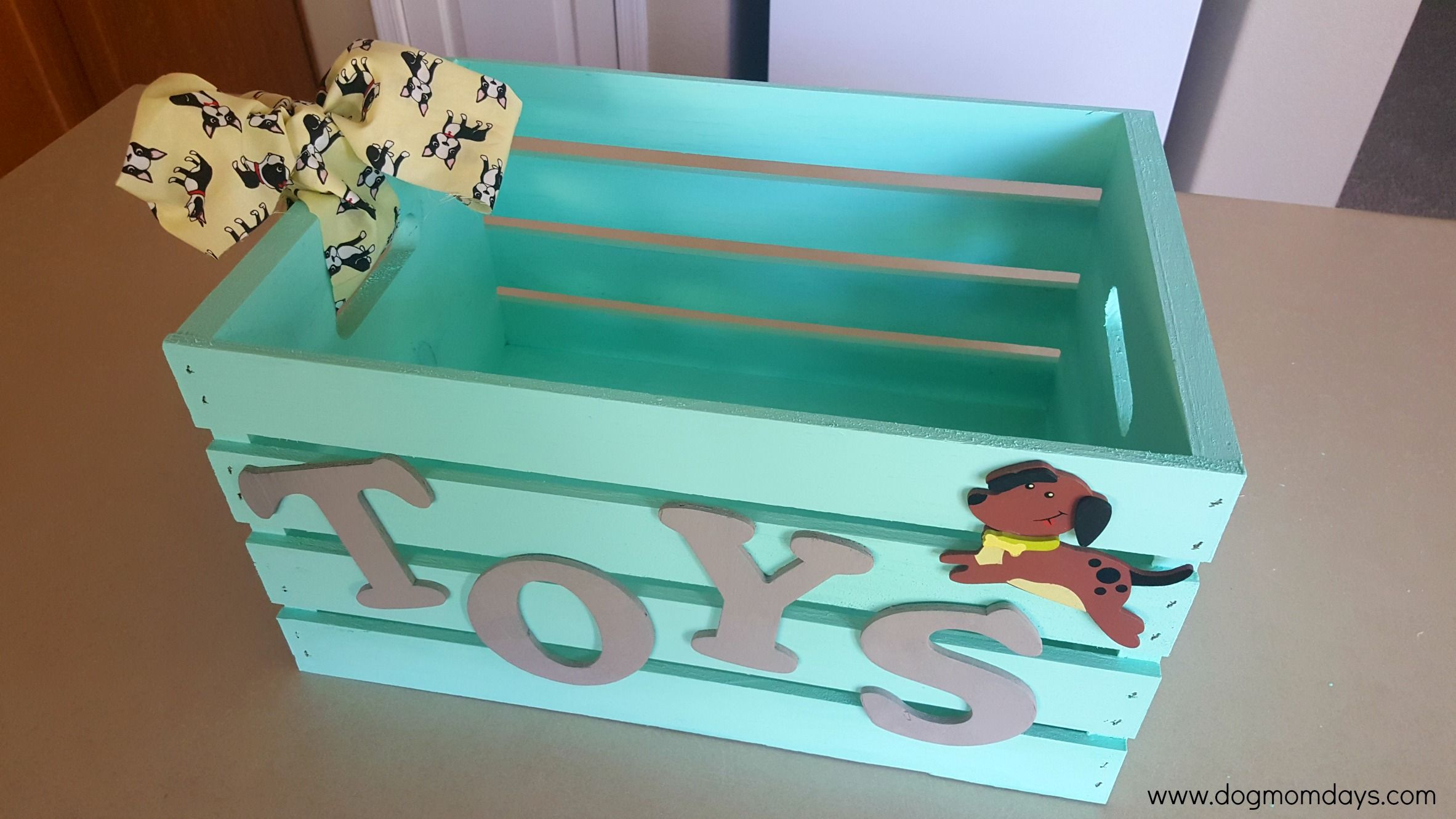 Diy Dog Toy Box Dog Toy Box Diy Dog Toys Diy Cat Toys