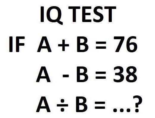 quiz iq test