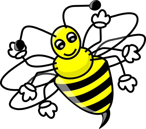 Image For Bee Animal Clip Art