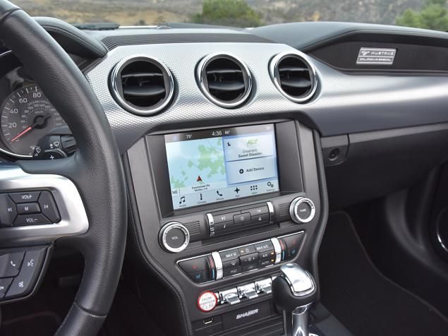 Techwise, the 2017 Mustang GT Convertible features Ford's