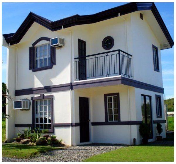 Fachadas bonitas y sencillas lindo casa pinterest for Fachadas de casas de dos pisos sencillas
