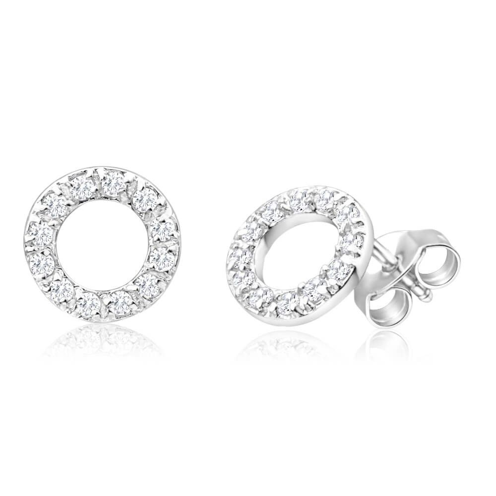 only products buy for at earrings open image tzefira collections silver sterling circle crystal