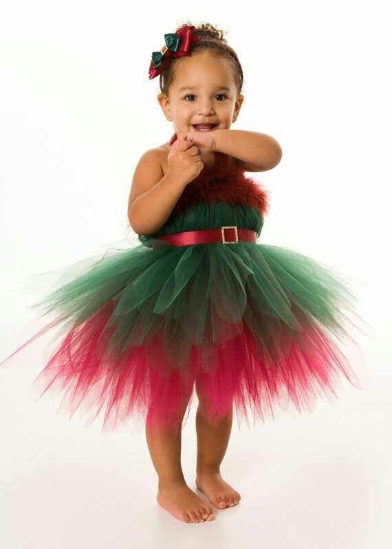 Gracie's elf tutu that I'm going to make.
