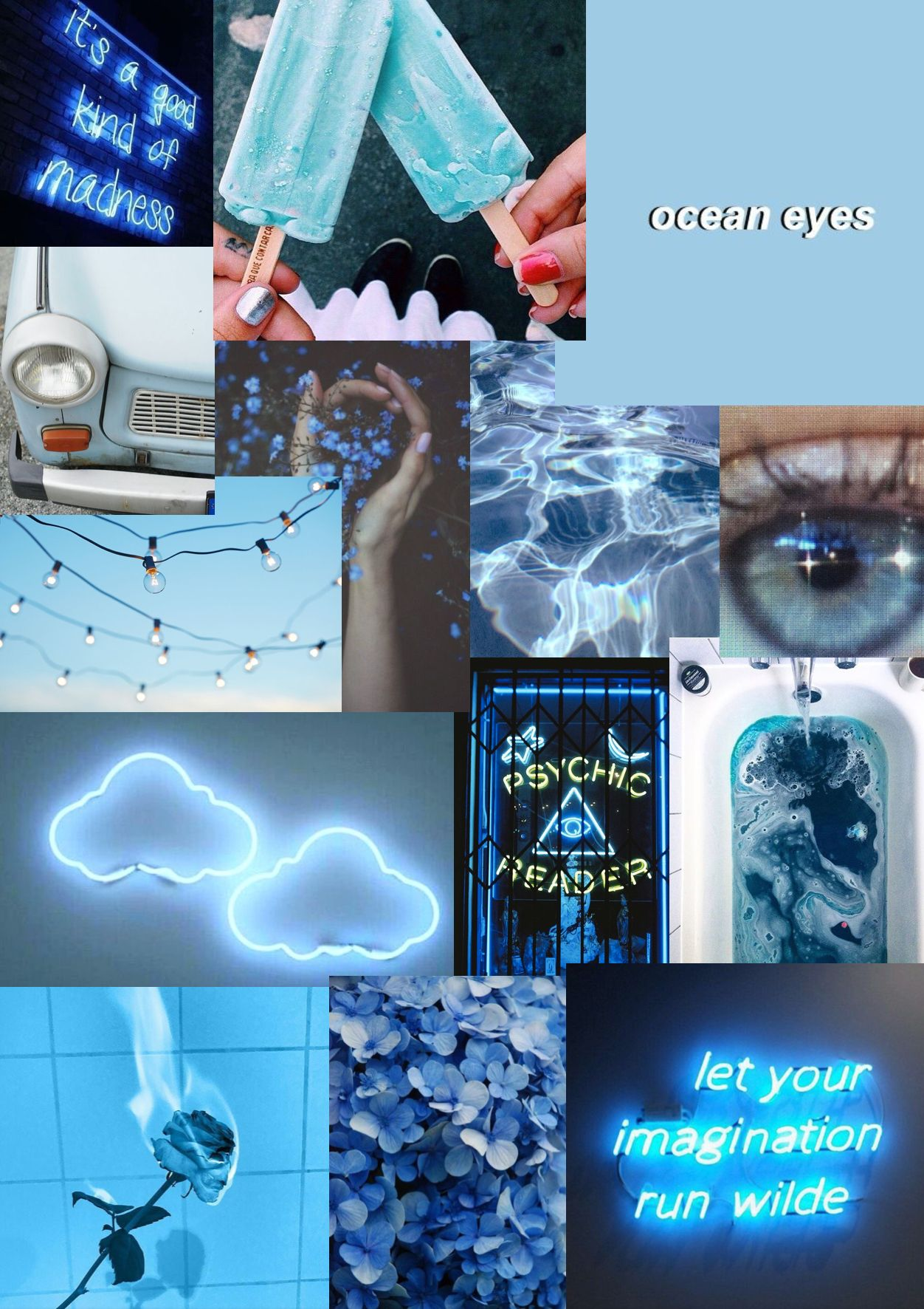 Idea by Genny Kerley 🌼 on w a l l p a p e r s Blue