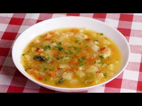 Esta Sopa De Verduras No Lleva Absolutamente Nada De Grasa Youtube Sopa De Verduras Sopa De Calabacín Recetas De Sopa