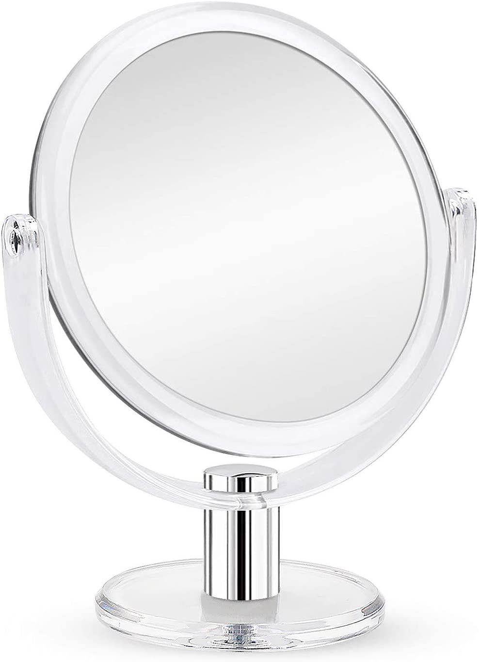 Fabuday Magnifying Makeup Mirror Double Sided 1x 10x Magnification Mirror Table Top Vani Amazon Affiliate Link C Magnification Mirror Makeup Mirror Mirror 15x magnifying mirror with lights