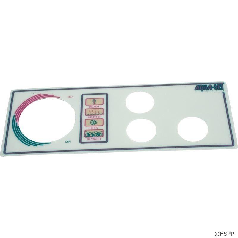 Overlay, Len Gordon Aquaset 4001/4002-3-SS, 3 Button