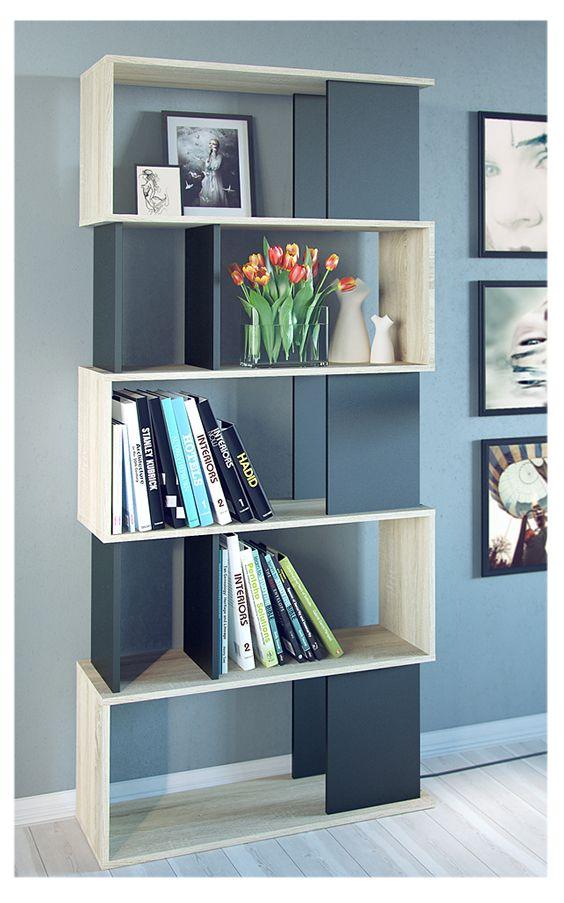 Proyecto Mueble Funcional Diseño De Mobiliario A Medida: Práctico, Decorativo Y Funcional Es Este Librero