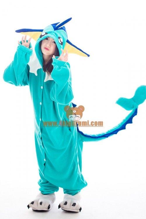 0c08b3a17f Pokemon Go Costumes - Vaporeon Kigurumi