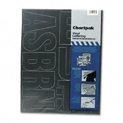 CHARTPAK PRESS ON STICK ON VINYL LETTERS /& NUMBERS HELVETICA FONT BLACK 3//4/""