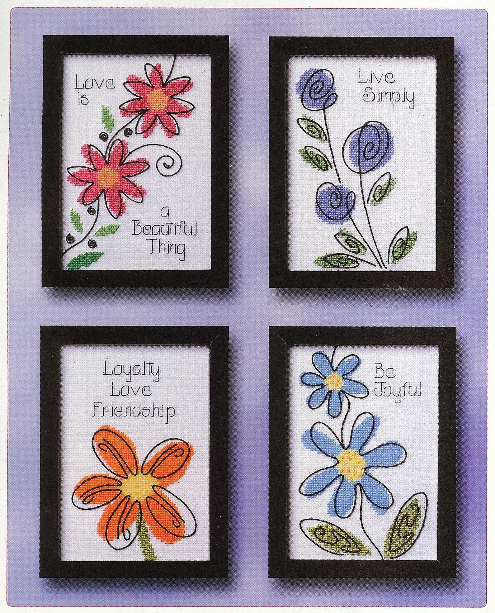 crafts n things flower of the month cross stitch series | Hey Crafters and Stitchers , check out the February issue of Crafts ...