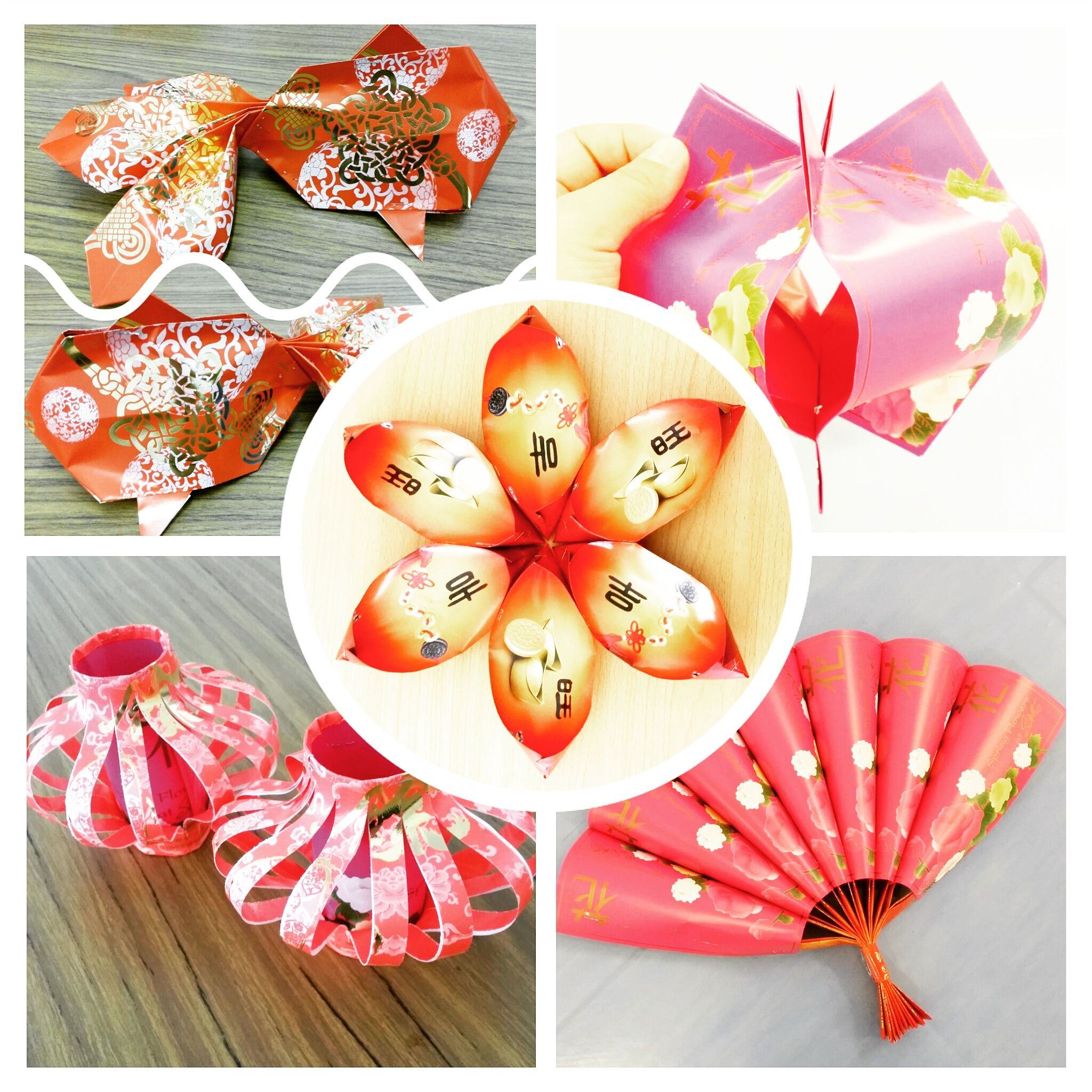 Red Packets (Angpow) Craft Chinese crafts, Chinese new