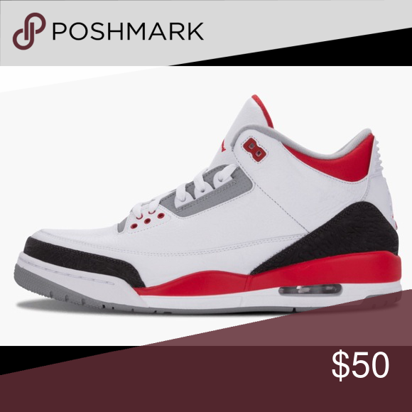 Jordan 3 Retro Sold!!! Gently used Jordan 3 Retro. Youth size 5 (fits women s  size 7)... Jordan Shoes Sneakers 18a893780