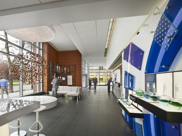 Biogen Idec campus by NELSON Cambridge Massachusetts Office