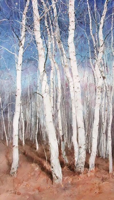 Art Of Watercolor: Guan Weixing.