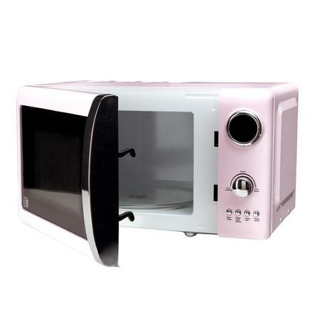Candy Rose Collection Retro Pink Microwave Dunelm 55
